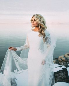 Witney Carson's Wedding Dress - Winter Wedding