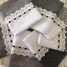 Kit 8 panos de prato barra coordenada verde claro no Dish Towel Crafts, Dish Towels, Tea Towels, Sewing Art, Sewing Patterns, Market Day Ideas, Kitchen Towels, Kitchen Linens, Towel Dress