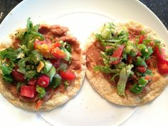 fat soft tacos. http://www.yummly.com/recipe/Vegan-Bean-Taco-Filling ...