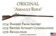 musket assault rifle