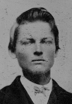 historical western photos - YOUNG JESSE JAMES