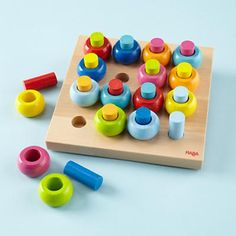 Seriously I LOVE simple wooden toys!