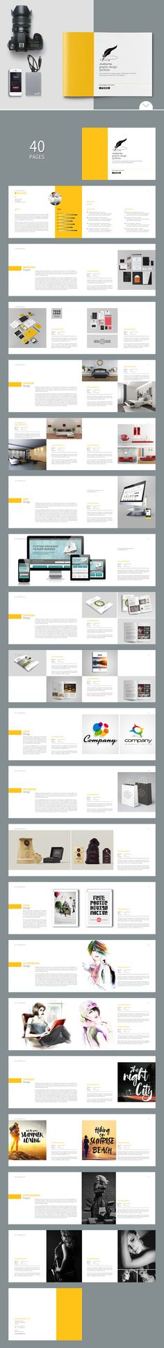 Elegant Photo Album Photo album printing, Print templates and - fashion design brochure template