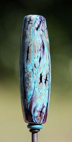 nina eagle - glass recipe: thai orchid, copper green, intense black