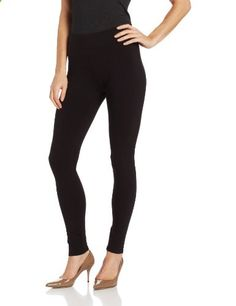 Hue Women's Ultra Leggings with Wide Waistband, Black, Medium  Go to the website to read more description.