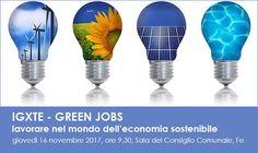Ferrara: Green Jobs: lavorare nel mondo delleconomia sostenibile incontro informativo aperto a tutti