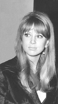 Pattie Boyd. British  model an actress.George Harrison's first wife.