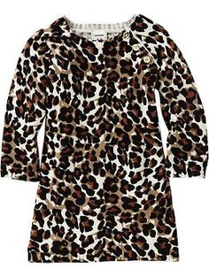 Tempted to buy this just in case I have a girl one day.  If not, it could be a gift.  No crazy, right?? //  Leopard-Print Sweater Dresses for Baby | Old Navy