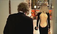 "dans ""le grand blond avec une chaussure noire"" Bare Back Dress, Open Back Dresses, Yves Robert, Concours Miss France, Delon, Blonde Guys, Shoes Photo, French Actress, Most Beautiful Women"