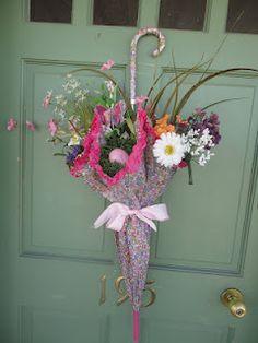fleurs ombrelle bouquet ???