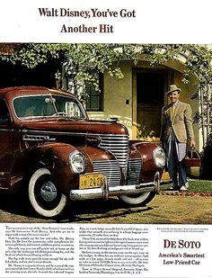 Walt Disney and the 1939 DeSoto