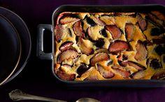 Plum Clafoutis: 2000s Recipes + Menus : gourmet.com