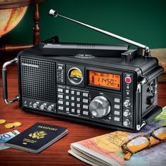 Listen to the World: Stay Informed With Grundig Shortwave Satellit 750 Radio — 50th Anniversary Series!
