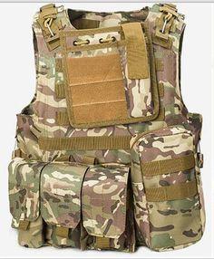 4b2a95d5cf6 Military Tactical Vest US Army Outdoor Airsoft Paintball Vest – 520outdoor Military  Tactical Vest