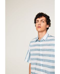 STRIPED SHIRT - Available in more colours