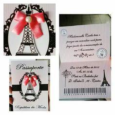 Convite paris passaporte