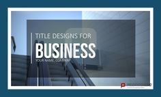 title images in powerpoint function great as segregator slide, Modern powerpoint
