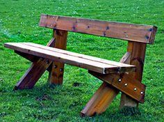 Wooden Bench Ideas Outdoor Stylish and Practical Outdoor Furniture Bench Ideas Wooden Bench Ideas Outdoor. Outdoor Furniture Bench, Pallet Furniture, Rustic Furniture, Garden Furniture, Outdoor Benches, Furniture Design, Furniture Storage, Office Furniture, Modern Furniture