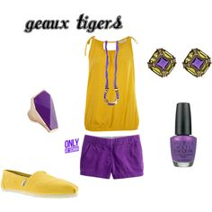 LSU games, created by kap-1105 on Polyvore