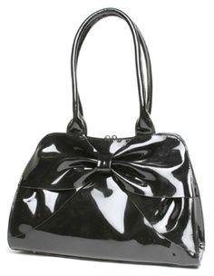 d5443336bb31 Retro Glam - Lux De Ville Lady Lux Kisslock Bag in Black