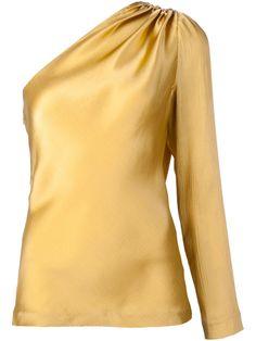 Cushnie Et Ochs one-shoulder blouse
