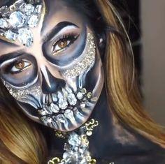 Diamond Skull Tutorial by Vic Brocca https://m.youtube.com/watch?feature=youtu.be&v=EvDtLEEJTS4