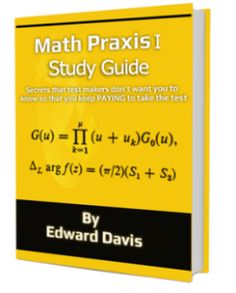 The Praxis Study Guide http://anthonyspraxisstudyguide.com/ studies not only dishes out a heap of secrets revolving around the exams, but also clues the readers in a valuable guide to securing a spot on the next evaluation time. Increase your chance of pasing the exam.know more about it by clicking the photo link.