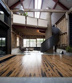 Ancient Party Barn by Liddicoat & Goldhill | HomeAdore