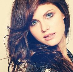 Alexandra Daddario. I think she's one of the most beautiful actresses