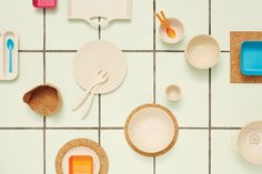 bitossi home (styling francesca sarti - photo silvia puntino) Plates On Wall, Home Collections, Industrial Design, Biodegradable Products, Latte, Inspireren, House Styles, Recycling, Dish