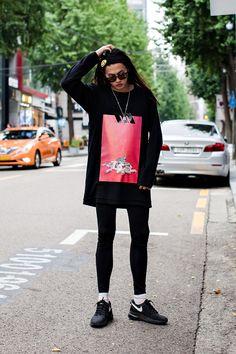 TOP   YOHANIX,VLADES BOTTOM   ADIDAS SHOES  NIKE Street Style Kim…