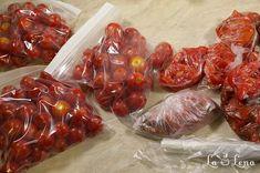 Rosii congelate inteligent pentru iarna - pas cu pas - LaLena.ro Beef, Food, Jelly, Preserves, Meat, Essen, Meals, Yemek, Eten