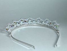 Pretty Pearls and Crystal AB Tiara Birthday от CreativeCalling1