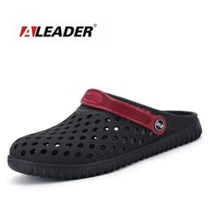 0fb6b9ebc Aleader EVA Crocus Clogs Men Slip On Garden Shoes Lightweight Beach Sandals  For Men Casual Water Slippers Yeez Men Shoes