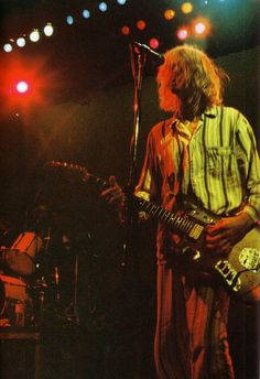 Kurt Cobain on stage #Nirvana 2/19/92 - Nakano Sunplaza, Tokyo, Japan.
