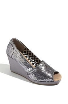 TOMS 'Sequin' Wedge (Women) | Nordstrom - StyleSays