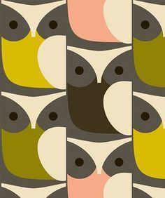 print & pattern blog - orla kiely AW15 owls #surfacepattern #patterndesign #pattern