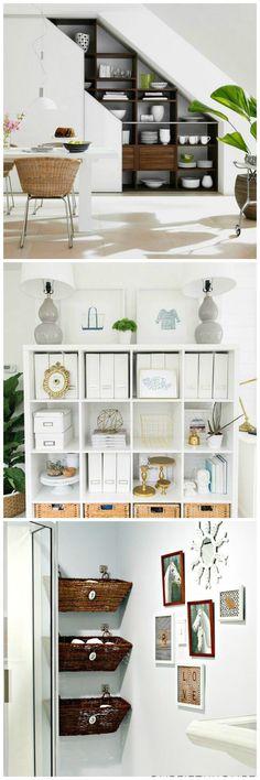 Creative Shelf Storage Organization Ideas #organization #organizationhacks #storagehacks #storage #shelfstorage #organizationideasforyourhome #organizingideas