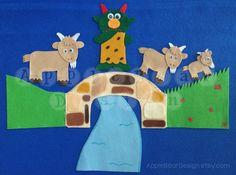 Felt Board Story Set: The Three Billy Goats Gruff