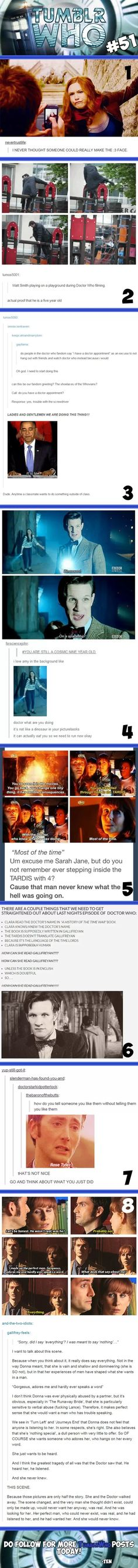 The last one though :( that scene always makes me sad Serie Doctor, Oki Doki, Fandoms, Don't Blink, Torchwood, Blue Box, Time Lords, My Tumblr, Geek Culture