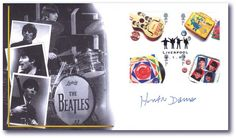 Beatles - Cavern Club First Day Cover autographed by Hunter Davies. Best known for his books on the Beatles.