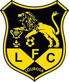 POR_LUSITÂNIA LOUROSA_SANTA MARIA DA FEIRA_LOUROSA Ferrari Logo, Porsche Logo, Football Mexicano, Sports Clubs, Crests, Portugal, Team Logo, Badge, Santa Maria
