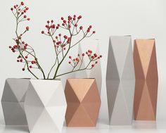 Les vases en carton Snug