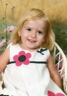 My great niece, Sammy