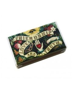 cute boxes of matches with a nice candle?? Friendship Love & Truth Matchbox