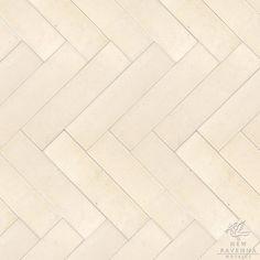 "Herringbone 3"" x 12"" Copyright New Ravenna Mosaics #tile #flooring"