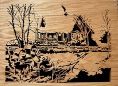 Scroll Saw Woodwork - Country Home on Etsy, $160.36