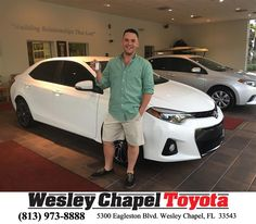 Happy Anniversary to Scott on your #Toyota #Corolla from Amanda Baron at Wesley Chapel Toyota!  https://deliverymaxx.com/DealerReviews.aspx?DealerCode=NHPF  #Anniversary #WesleyChapelToyota