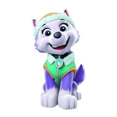 Paw Patrol Everest, Los Paw Patrol, Marshall, Alvin And The Chipmunks, Alice In Wonderland, Smurfs, Pup, Cloverfield 2, Cartoon