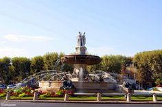 Rotonde Jeanne d'Arc, Aix-en-Provence, France